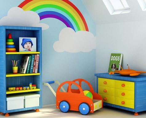 Pokój dziecięcy sprzątanie
